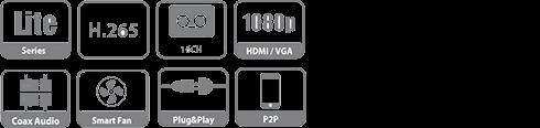 DH-XVR5232AN-X dahua specs
